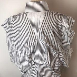 Alexander McQueen Dresses - Alexander McQueen Oversized Button Down Shirt